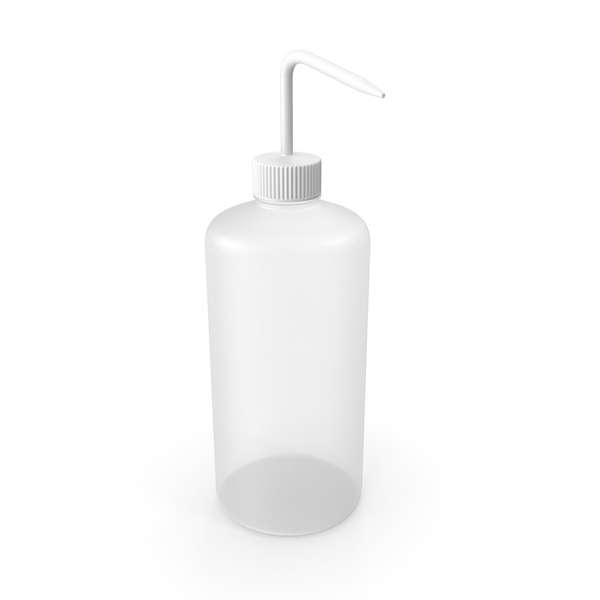 Laboratory Wash Bottle PNG & PSD Images