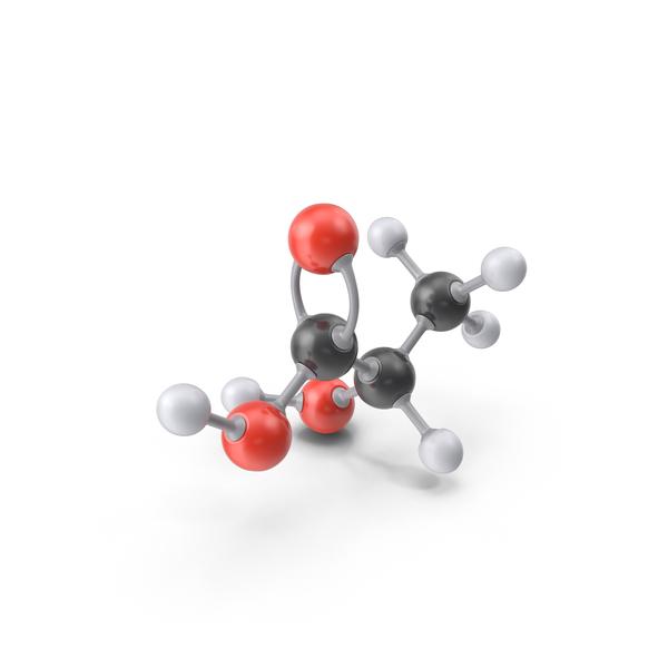 Lactic Acid Molecule PNG & PSD Images