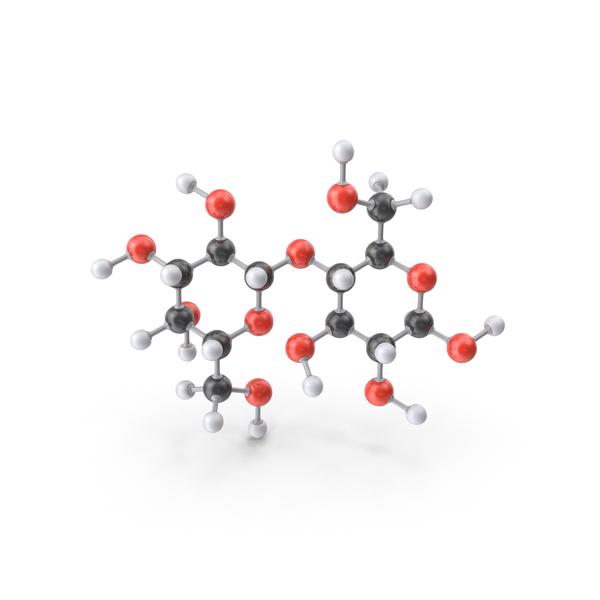 Lactose Molecule PNG & PSD Images