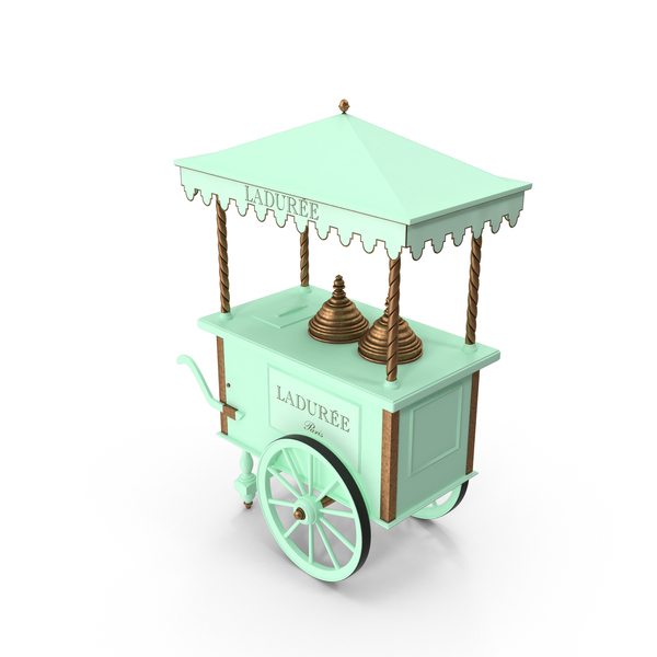 Market Stall: Laduree Cart PNG & PSD Images