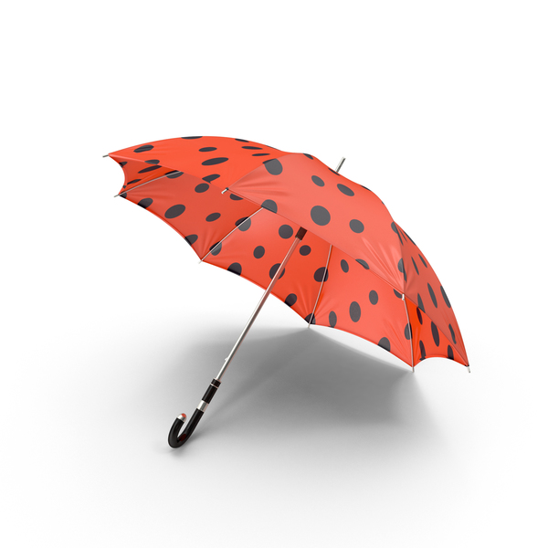 Lady Bug Umbrella PNG & PSD Images