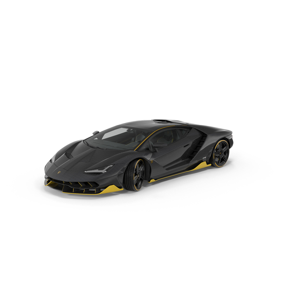 Sports Car: Lamborghini Centenario 2017 PNG & PSD Images
