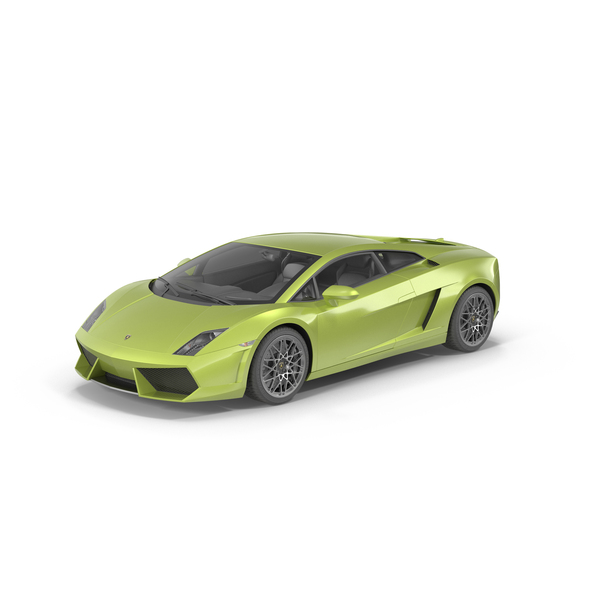Sports Car: Lamborghini Gallardo PNG & PSD Images