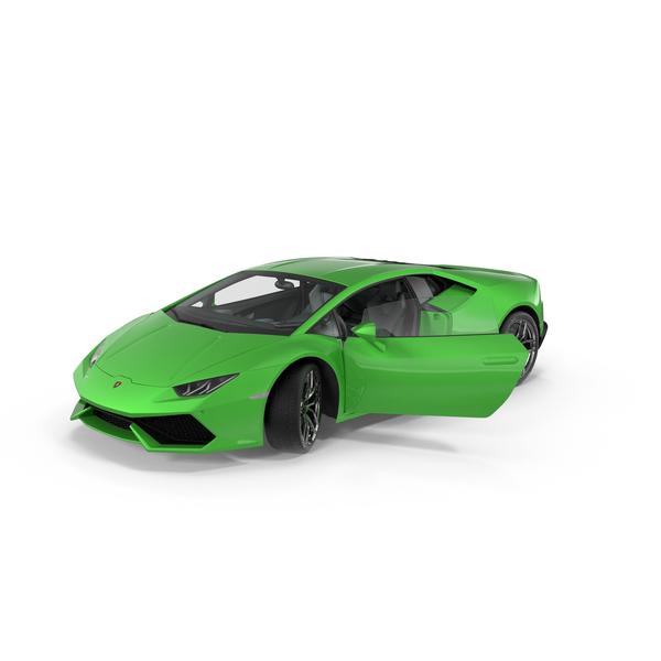Lamborghini Huracan PNG & PSD Images