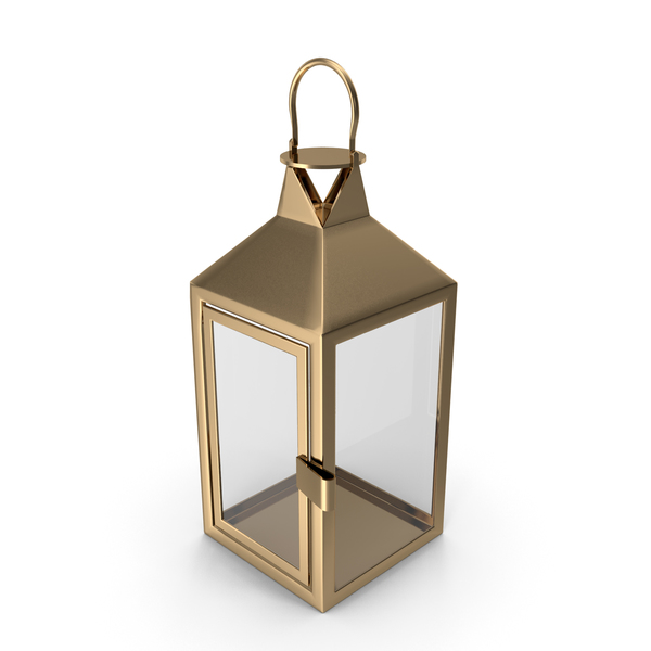 Lantern Empty Gold PNG & PSD Images