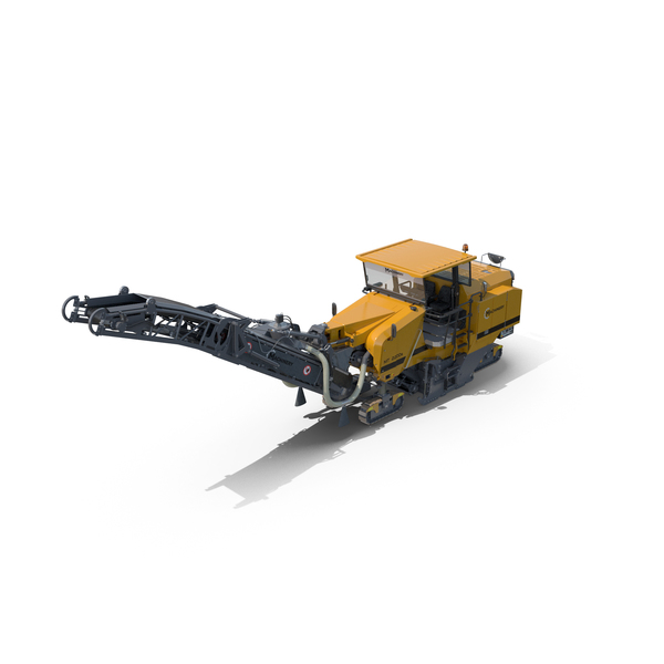 Large Asphalt Milling Machine Generic PNG & PSD Images