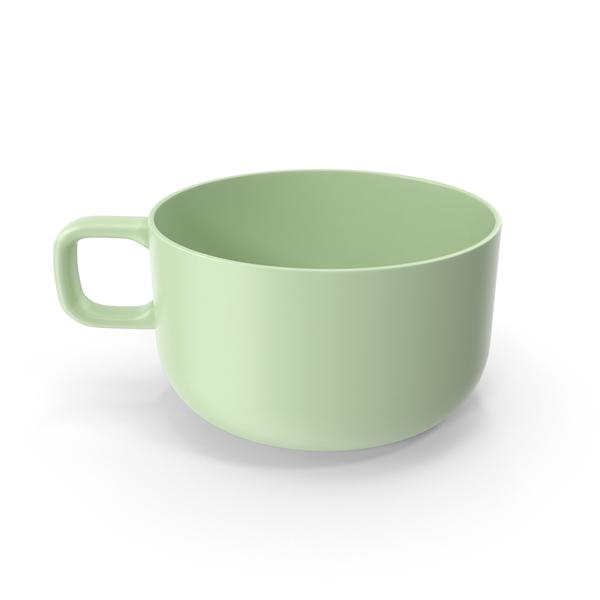 Large Mug Green PNG & PSD Images
