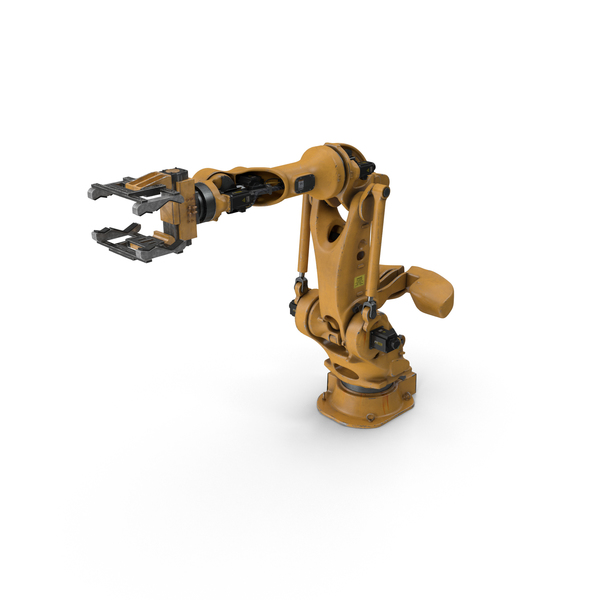 Large Payload Robot With Gripper Attachment PNG & PSD Images