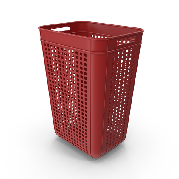 Large Plastic Crate Object