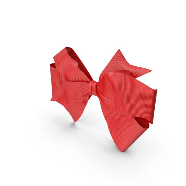 Gift: Large Red Bow PNG & PSD Images