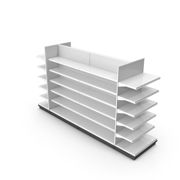 Large Retail Shelf PNG & PSD Images