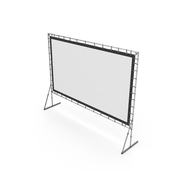 Large Stage Screen Object