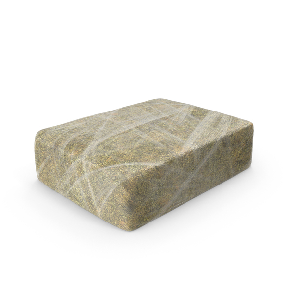 Heroin: Large Wrapped Drug Brick Object