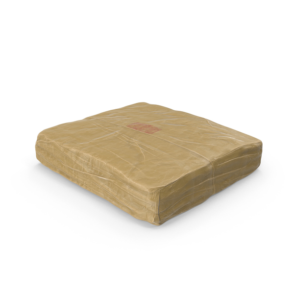 Heroin: Large Wrapped Drug Bricks PNG & PSD Images