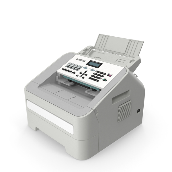 Laser Copy Fax Print Machine PNG & PSD Images