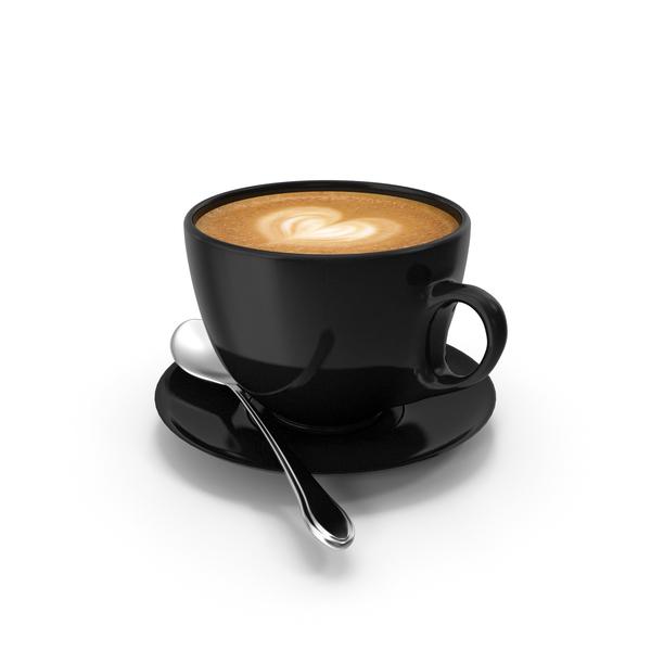 Latte Art Heart PNG & PSD Images