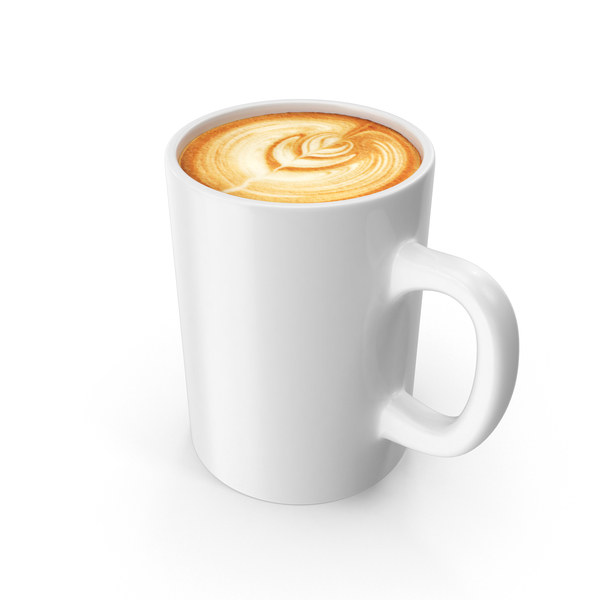 Latte In Mug PNG & PSD Images