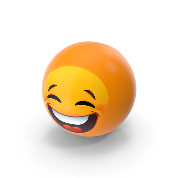 Facial Expression: Laughing Emoji PNG & PSD Images