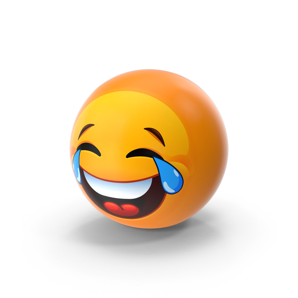 Laughing With Tears Emoji PNG & PSD Images