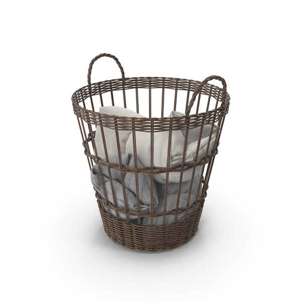 Hamper: Laundry Basket PNG & PSD Images