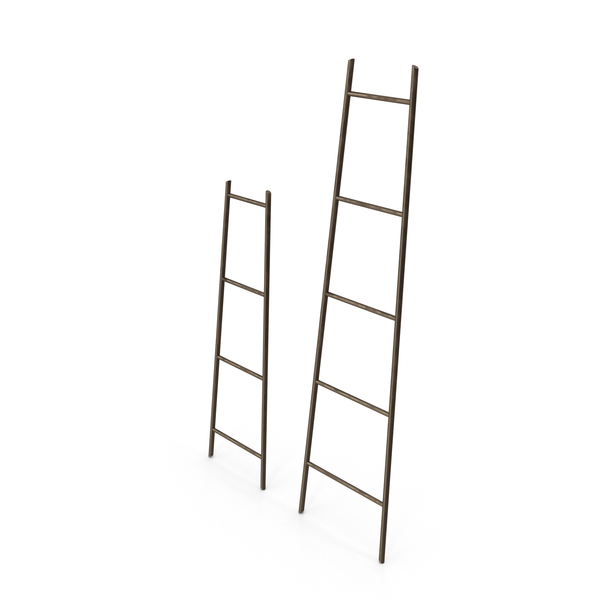 General Decor: Laurel Ladder Decoration PNG & PSD Images