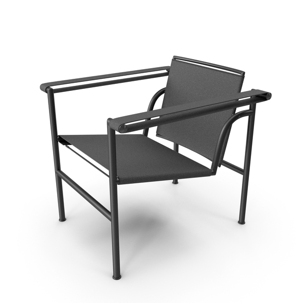 Chair: LC1 Cassina Armchair PNG & PSD Images