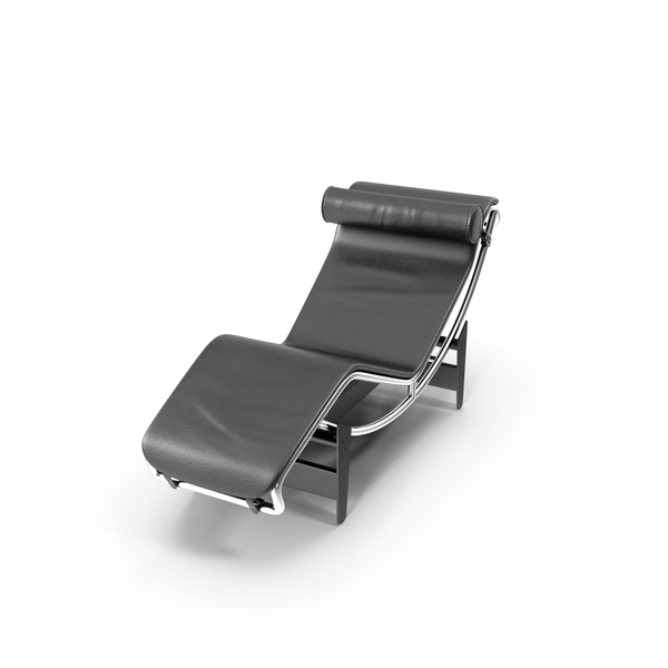 Chair: LC4 Chaise Lounge PNG & PSD Images