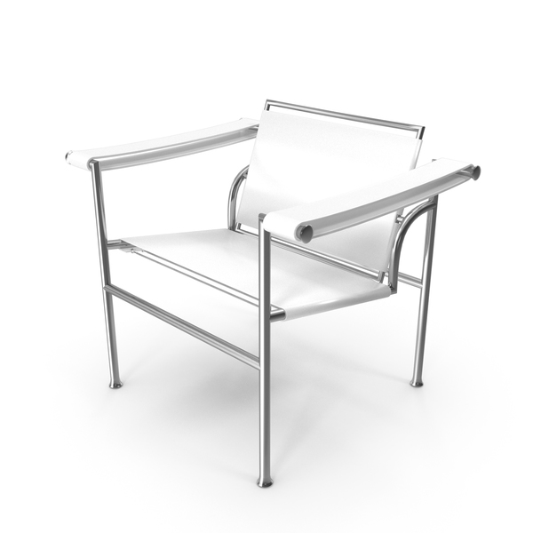 Conference Room: Le Corbusier LC1 White Chair PNG & PSD Images