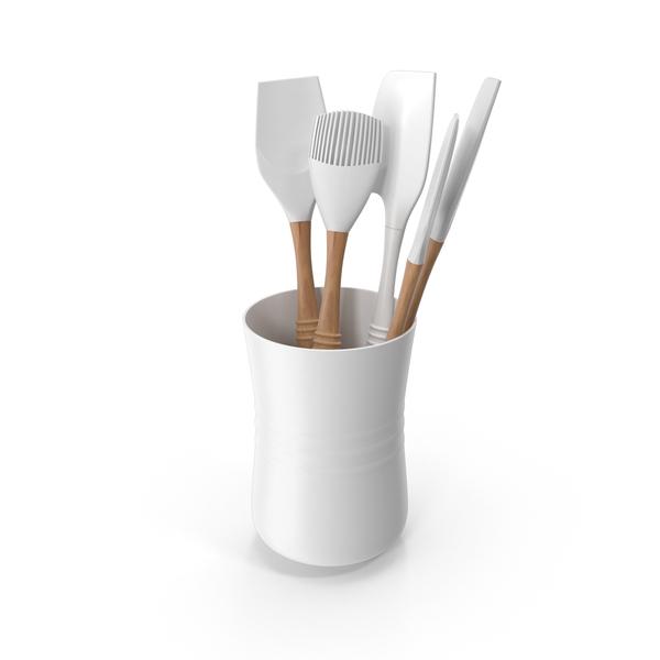 Kitchenware: Le Creuset Utensils PNG & PSD Images