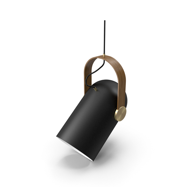 Le Klint Carronade Spot Pendant Black Small PNG & PSD Images