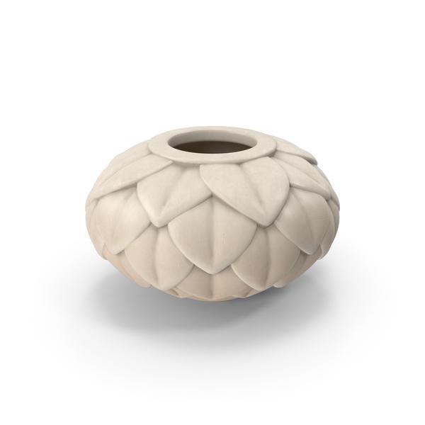 Leaf Porcelain Vase PNG & PSD Images