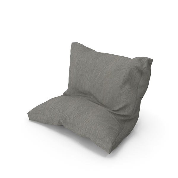 Bed: Leaning Pillow PNG & PSD Images
