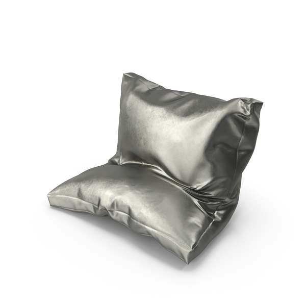 Bed: Leaning Pillow Metallic PNG & PSD Images