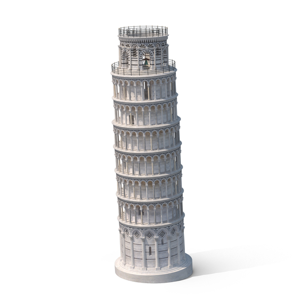 Leaning Tower of Pisa PNG & PSD Images