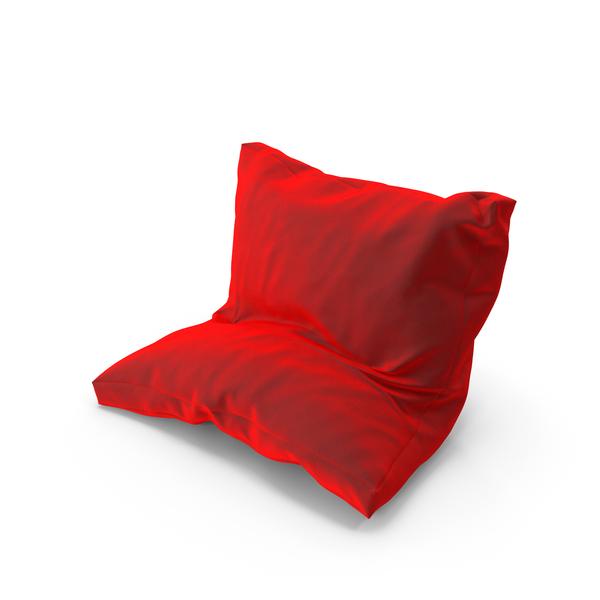 Bed: Leanning Pillow Velvet PNG & PSD Images