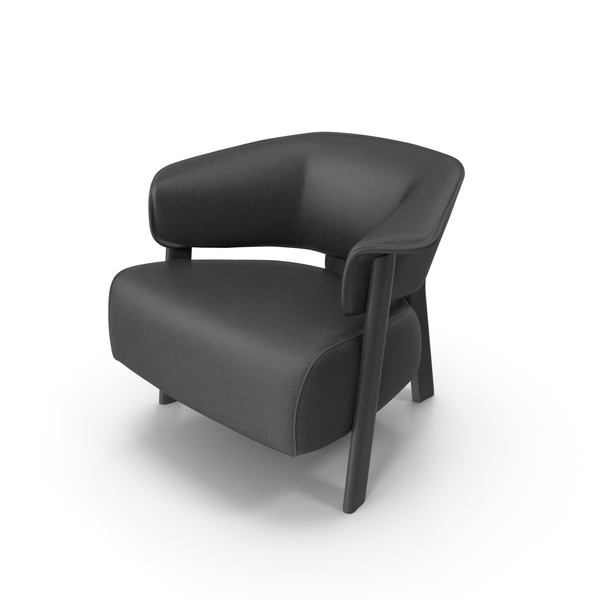 Leather Arm Chair PNG & PSD Images