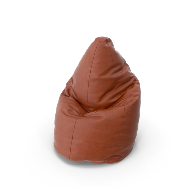 Leather Bean Bag Chair PNG & PSD Images