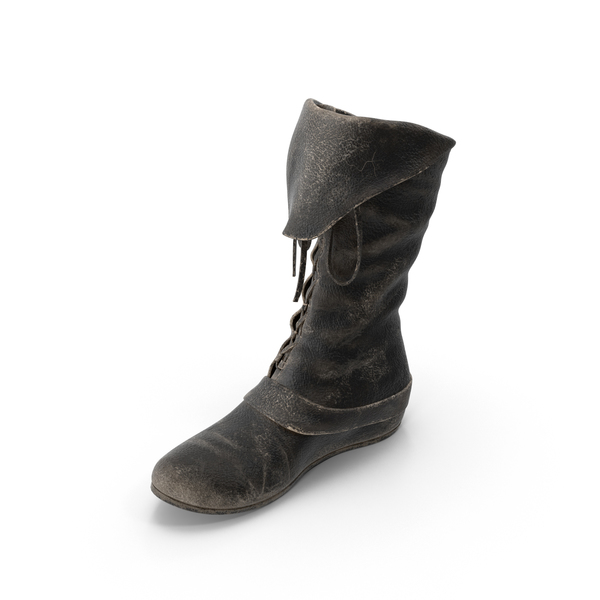 Leather Boot Right PNG & PSD Images