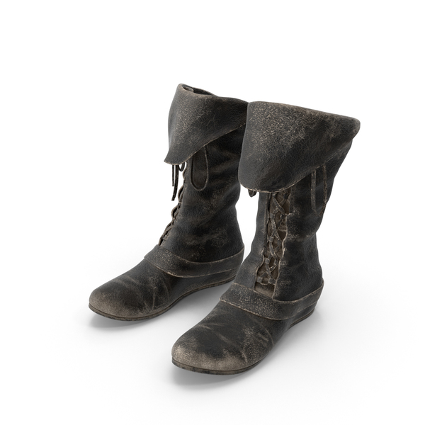 Leather Boots Object
