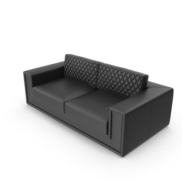 Leather Modern Sofa PNG & PSD Images