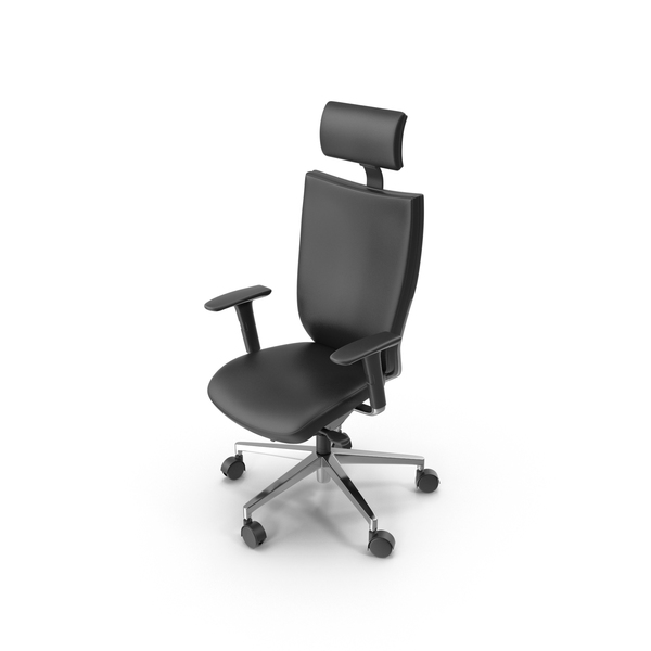 Leather Office Chair PNG & PSD Images