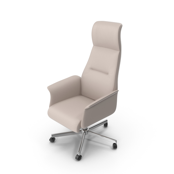 Leather Office Swivel Chair PNG & PSD Images