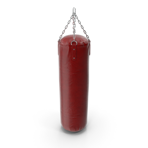 Heavy: Leather Punching Bag PNG & PSD Images