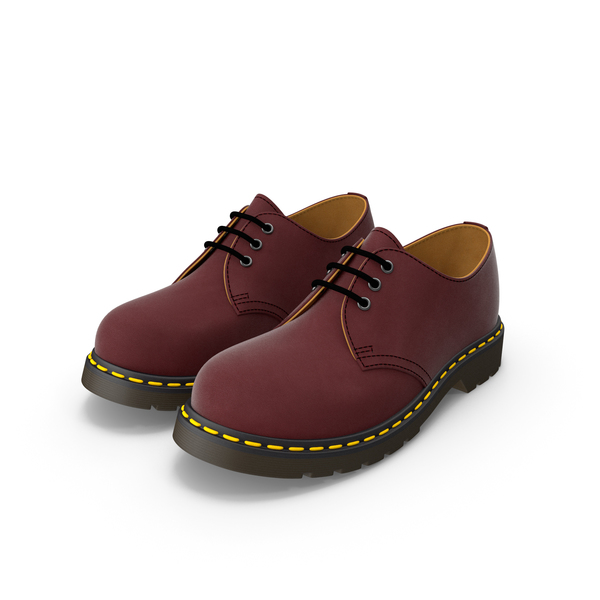 Leather Red Shoes PNG & PSD Images