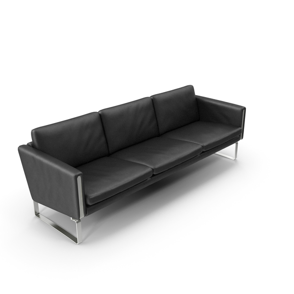 Leather Sofa Carl Hansen & Sn PNG & PSD Images