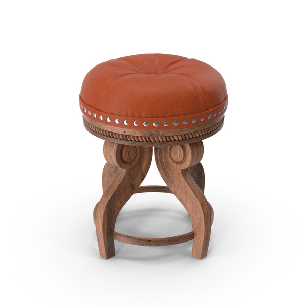 Leather Stool PNG & PSD Images