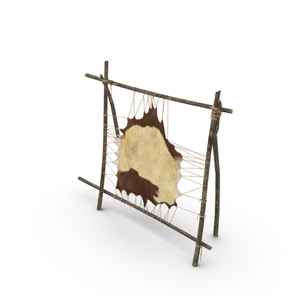 Leather Tanning Rack PNG & PSD Images