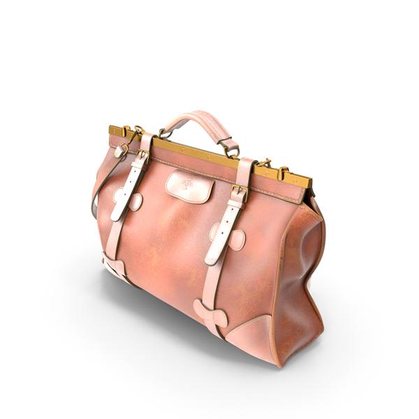 Shoulder: Leather Travel Bag PNG & PSD Images