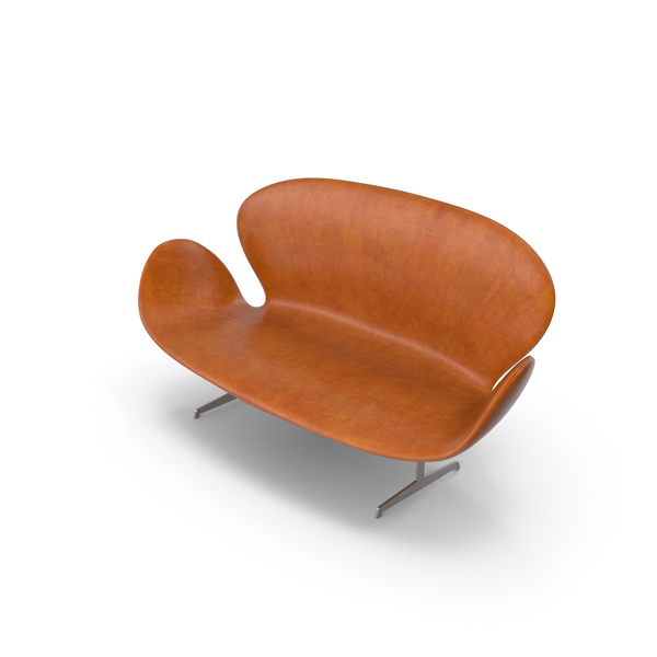 Leather Wing Sofa Object