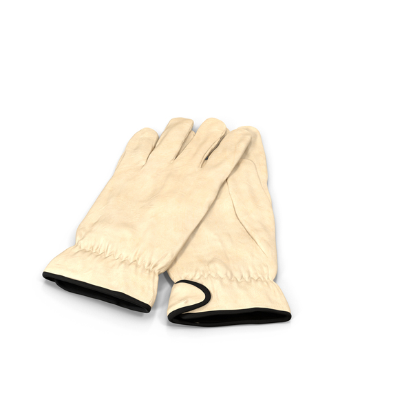 Leather Work Gloves PNG & PSD Images